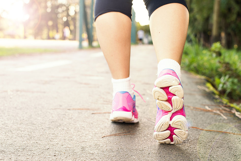 Walk this way: Just 7,500 steps a day lowers mortality in older women, study says